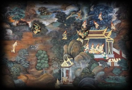 The Thai Buddhist Heaven has 6 Realms forming 16 sub levels