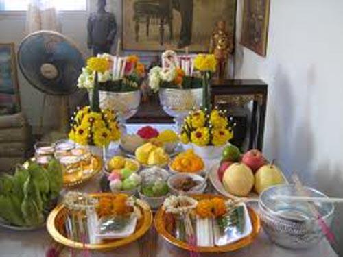 Khan Kroo, Pan Kroo - Offerings to the Guru Deva Ruesi Hermit