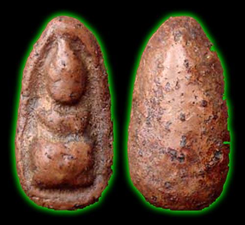 Pra Gru Tham Suea Thai Amulet